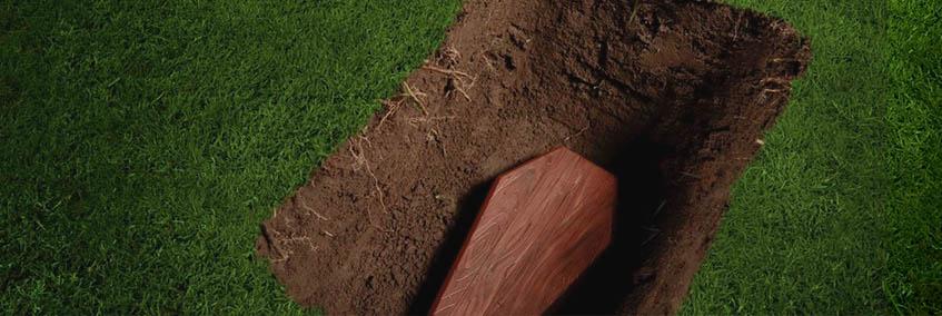 Определение места на кладбище